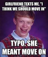 Brian Meme - bad luck brian meme luck brian funny humor comedy lol