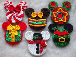 mickey mouse minnie mouse crochet pattern christmas elf