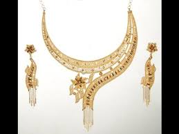 bengali gold earrings top 15 bengali designer 22 carat gold necklace and ear ring sets