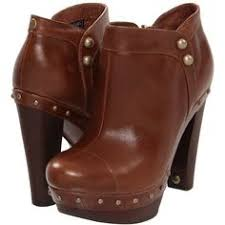 s ugg australia burgundy plumdale charm boots ugg cosima for wood leather platform heels at