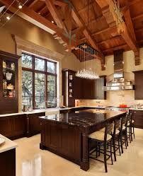 unique diy farmhouse overhead kitchen lights light basement exposed ceiling lighting cool home creations