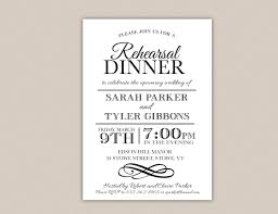 rehersal dinner invitations rehearsal dinner menu wording amazing invitation template