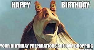 Funny Animal Birthday Memes - best star wars funny happy birthday meme happy wishes