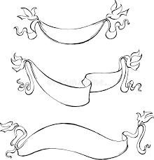 dove sketch banner stock vector image 70378129