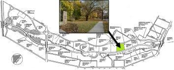 Cleveland Map Croatian Cultural Garden