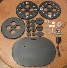 gear clock kit alan parekh u0027s electronic projects