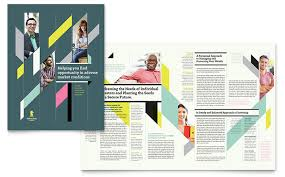 personal finance brochure template word u0026 publisher
