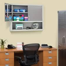 Seville Classics Office Desk Organizer by Seville Classics Ultrahd Wall Cabinet With Open Shelf Walmart Com