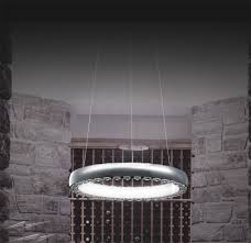 Halo Ceiling Lights Ilx100 Illuminati Halo Small 33 6w 4000k Led 46cm Pendant