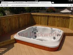tub recessed into deck for the home pinterest tubs
