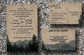 forest wedding invitations rustic wedding invitation woodsy wedding invitation cing