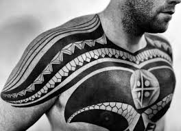 106 insanely tattoos for men tribal chest tattoos chest