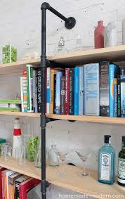 Home Made Modern by Homemade Modern Ep47 Pipe Shelves