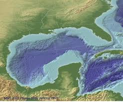 Gulf Of Mexico On Map by Lesli Wood Exploring Gulf Of Mexico Deep Water Oil Earth Earthsky