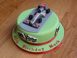 car cake toppers f1 car cake topper this is an f1 themed 40th birthday cake flickr