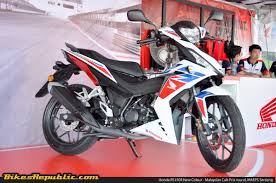 what is the price of honda cbr 150 boon siew honda officially introduces new colour for 2017 honda