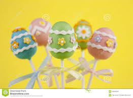 easter cakepops easter egg cake pops royalty free stock image image 23045946