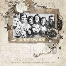 rustic wedding scrapbook rustic wedding embellishment biggie digital scrapbooking kit by