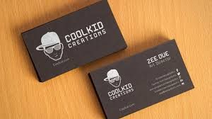 qr code business card template cards modern two colour by emilys