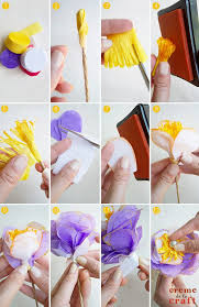 paper crepe streamers diy crepe paper flowers from party streamers