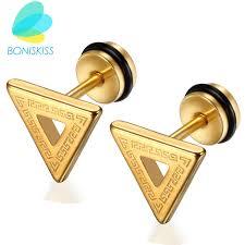 mens gold earrings gold earrings men mens diamond cluster earring k gold ct single