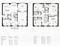 4 bedroom house plans 2 story house floor plans 2 story 4 bedroom 3 bath plush home home ideas
