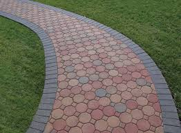 awesome combination of pavers shape design for home depot patio