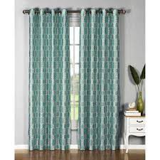 Teal Drapes Curtains Window Elements Curtains U0026 Drapes Window Treatments The Home