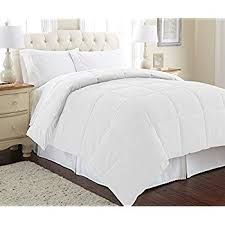 Storing Down Comforter Amazon Com Amazonbasics Down Alternative Comforter Full Queen
