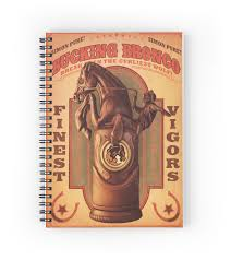 bioshock infinite u2013 bucking bronco poster