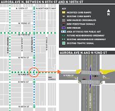 Wsdot Seattle Traffic Map by Neighborhood Street Fund Transportation Projects For Your Neigborhood