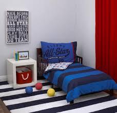 Sports Toddler Bedding Sets S All Sports Theme 4 Toddler Bedding Set Navy