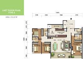 residence floor plan olive tree residences bayan baru harta intan