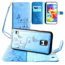 samsung galaxy s5 design samsung galaxy s5 embossed butterfly design wallet with