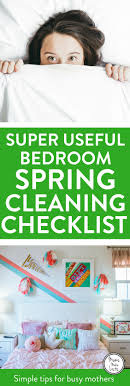 cleaning bedroom checklist bedroom spring cleaning checklist mums make lists
