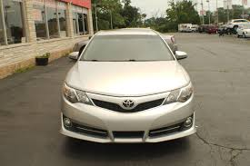 2012 toyota camry se silver sedan car sale