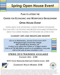 job training program open house spring 2015 cewd