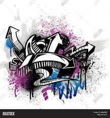graffiti design graffiti design vector photo bigstock