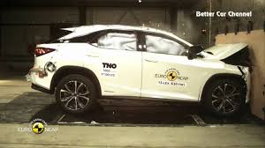 lexus 350 vs honda cr v crash test 2016 lexus rx 350 vs 2016 mercedes benz glc youtube