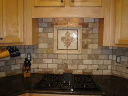 decorative kitchen backsplash tiles kitchen stunning u shape kitchen decoration using aged brick tile