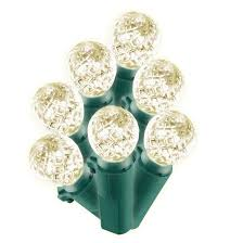 philips 200ct led faceted sphere string lights warm white target