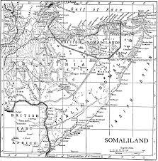 Rit Map 1911 Map Of Somalia Showing British Somaliland And Italian