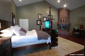 tv dans chambre meuble tv chambre with classique chambre décoration de la maison
