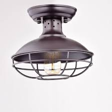 Ceiling Light Dazhuan Industrial Vintage Metal Cage Pendant Lighting Semi Flush