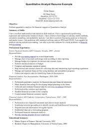 Business Analyst Resumes Examples by Resume Data Analyst Resume Examples