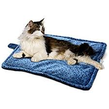 How To Comfort A Cat In Heat Amazon Com Meow Town Thermal Cat Mat Gray Pet Bed Mats Pet