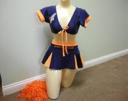 wrap top denver broncos nfl neon football halloween costume