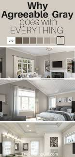 sherwin williams paint with oak cabinets agreeable gray the ultimate neutral greige paint color