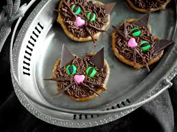 halloween treat recipe lucky black cats hgtv