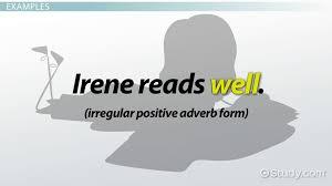 comparison of adjectives u0026 adverbs examples sentences